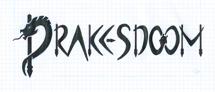 Hand-rendered version of chosen Drakesdoom logo
