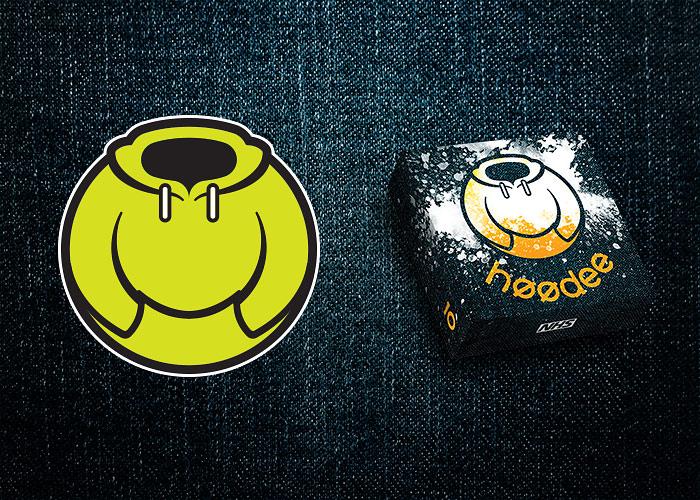 Alternative design proposal: Hoodee logo and a sample pack design